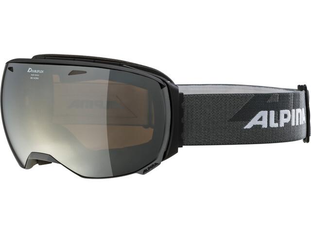 Alpina Big Horn MM Goggles black-grey black spherical